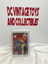 Vintage G.I. Joe 1983 COBRA Officer The Enemy MOC 1986 Takara card Acrylic Case