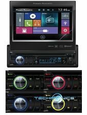 "POWER ACOUSTIK PD-724B 7"" TOUCHSCREEN BLUETOOTH DVD/CD/MP3/USB CAR STEREO PLAYER"