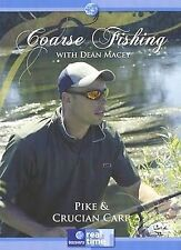 COARSE FISHING WITH DEAN MACEY PIKE & CRUCIAN CARP  DVD - FREE POST UK