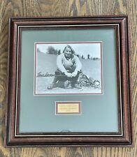 Vintage 1935 Signed Autograph Gene Sarazen Masters Golf Framed Picture COA