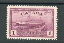 Canada KGVI 1946-47 Peace re-conversion $1 purple SG406 MLH