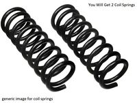 2x Fits Skoda Fabia 1999-2007 Rear Axle Left Right Coil Springs