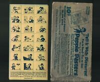 White & Wyckoff's Peppie Pasters Holyoke Mass 1925 Stickers CE Howell