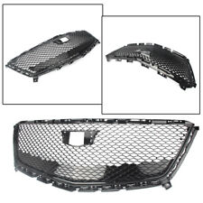 Front Grill Grille Mesh Glossy Black ABS Fit Cadillac XT5 2016 2017 2018 Black o