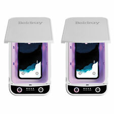 Beldray® COMBO-6861 Antibac UV-C Sterilisation Phone Keys Steriliser Box, 2 Pack