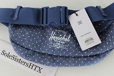 100% Authentic Herschel Sixteen Waist Hip Fanny Pack Limoges Crosshatch Polka DS
