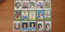 Lot of 1977 1978 1979 Scanlens Rugby League cards