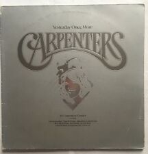 Carpenters - Yesterday Once More - A & M Double Vinyl LP SING 1 Nr EX/VG