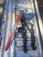 CM 1-1/2 Ton 5' Lift Puller, Chain Lever Hoist, Come Along, Aluminum, 3000 Cap