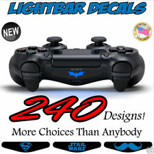 (Set of 2) PS4 Playstation Controller Lightbar Custom Decals - FREE Shipping!