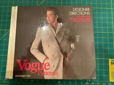 1987 Vogue Pattern Counter Book