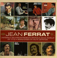 Jean Ferrat - L'integrale Des Enregistrements Originaux Decca [New CD] France -
