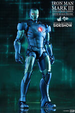 HOT TOYS MMS 314 IRON MAN MARK III Stealth Mode NUOVO & OVP RARE * TOP * 1/6 scale