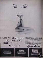 PUBLICITÉ 1960 LE ROLLING ROUGE MIROIR ELIZABETH ARDEN - ADVERTISING