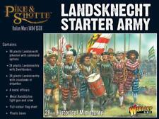 Lanzichenecchi STARTER dell'Esercito-PIKE & SHOTTE-WARLORD GAMES -