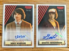 2020 Topps Stranger Things Autograph Auto Mike Wheeler & Dustin Henderson *24/50
