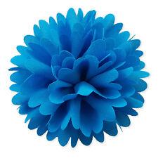 8cm Ruffled Pompom Flower Hair Clips Grips Bobbles Bridesmaid Bridal Accessories