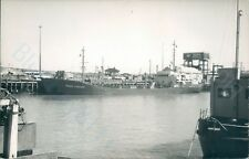 West german Mt Peder Lysgaard at newhaven 1978 ship photo