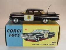 Corgi Toys 223 Chevrolet Impala State Patrol black with stickers MIB OVP #6067