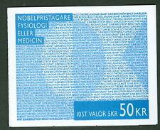 SWEDEN (H477) Scott 2206a, Nobel Laureates Physiology/Medicine booklet, VF