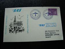 SUEDE - carte 1/4/1964 (norrkoping/copenhagen) (cy23) sweden