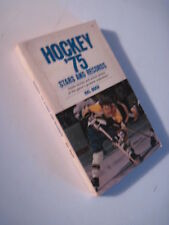 Hockey '75 Stars and Records! Bobby Orr, Boston Bruins! Chicago Blackhawks!