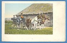 Russia/ Types - Troika Postcard Pre 1900 (1698)