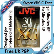 Jvc Xg de 30 minutos Super Vhs-c svhs-c compacta videocámara Video Cinta Cassette se-c30