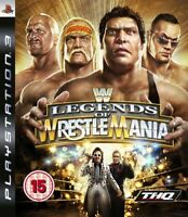 WWE: Legends of Wrestle Mania PS3 *in Excellent Cond*