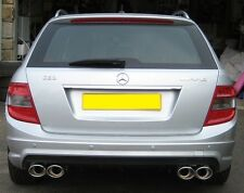 Mercedes AMG C63 W204 C Class Diffuser C63 Diffuser Estate models to 03/2011