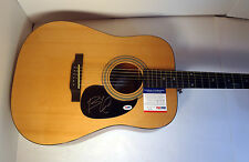 BILLIE JOE ARMSTRONG GREENDAY SIGNED EPIPHONE ACOUSTIC GUITAR PSA/DNA COA