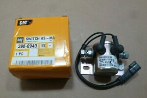 Genuine CAT Caterpillar 398-0940 Switch As Magnetic 3980940