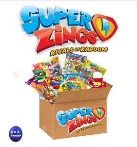 SUPERZINGS SUPERTHINGS Toys bundle in Box across all Series in resealed bags New