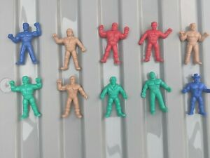 10 REMCO AWA All Star Wrestling Mini Mashers - VERY RARE