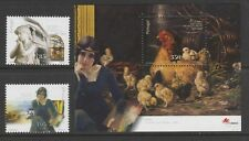 [Portugal 2001 – Fine Arts Society Centenary] Souvenir Sheet and set MNH