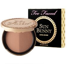 Too Faced SUN BUNNY NATURAL BRONZER ~ Full Size ~ New in Box ~ DELIGHTFUL BEAUTY