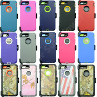 For iPhone 7/ 7 Plus Case Cover (Holster Clip fits Otterbox Defender)