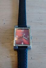 Vintage Polini ladies watch, new Leather band running with new battery NR G