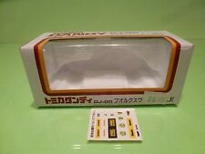 DANDY TOMICA DJ-011 ONLY BOX for VW VOLKSWAGEN BEETLE 1200LE - GOOD - EMPTY BOX