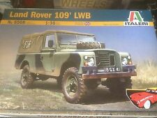 ITALERI 6508 1:35 LAND ROVER 109' LWB MILITARY MODEL KIT UNASSEMBLED UNPAINTED