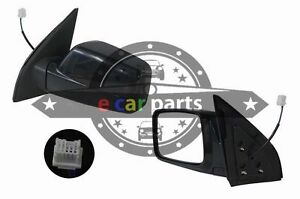 DOOR MIRROR FOR NISSAN X-TRAIL T30 10/2001-8/2007 RIGHT HAND SIDE BLACK ELECTRIC