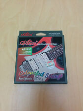 Alice Electric Guitar Steel strings, Colorful, AE535C. 0.23mm-1.07mm