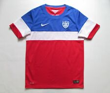 USA TEAM 2014/2015 AWAY SOCCER JERSEY FOOTBALL SHIRT CAMISETA NIKE MLS BOYS L