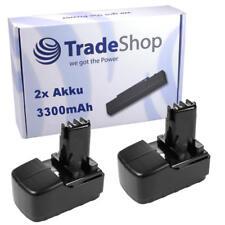 2x Akku 15,6V 3300mAh Power Battery ersetzt Metabo 6.31777 ME1574 ME-1574