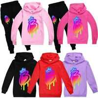 Royally B Brianna's Merch Kids Hoodies Hooded+Trousers Pants Tracksuit 2PCS Set