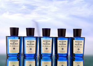 Acqua Di Parma Blu Mediterraneo Large and Travel Fragrances Each Sold Separately