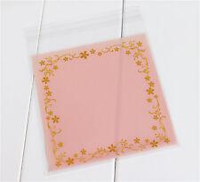 20 X Adhesivo Plástico Bolsas de Regalo 12 X 12cm Boda Dulces Galletas Galletas B024