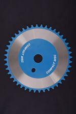 44 TOOTH BMX SPROCKET CD TORQUE CONVERTER TYPE ONE PIECE CRANK BLUE  C1334B