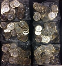 RARE 2017 MINT NEW UNCIRCULATED ONE POUND COINS DATED sealed bag 20 x £1