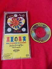 "PHILIP BAILEY / MID-SUMMER BLOSSOMS / 3"" JAPAN JAPANESE SINGLE mini CD / UK DSP"